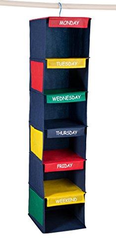 "Daily Activity Kids Closet Organizer –11"" X 11"" ..."
