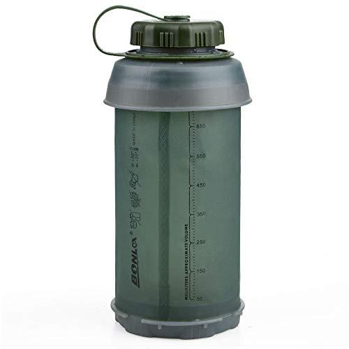 Botella Deportiva 750 Ml Portátil Al Aire Libre Plegable Deporte TPU Botella De Agua Suave Hervidor De Agua Plegable Botella De Agua Camping Viaje BOT