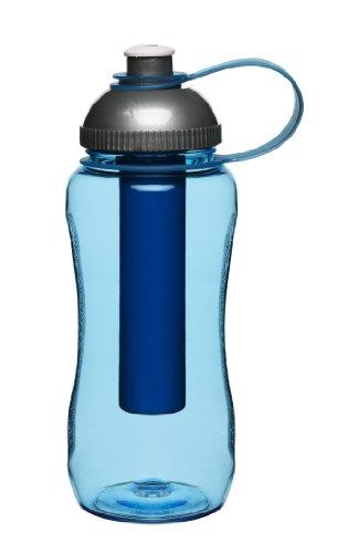 Sagaform - Botella con pistón de Hielo, Color: Azul
