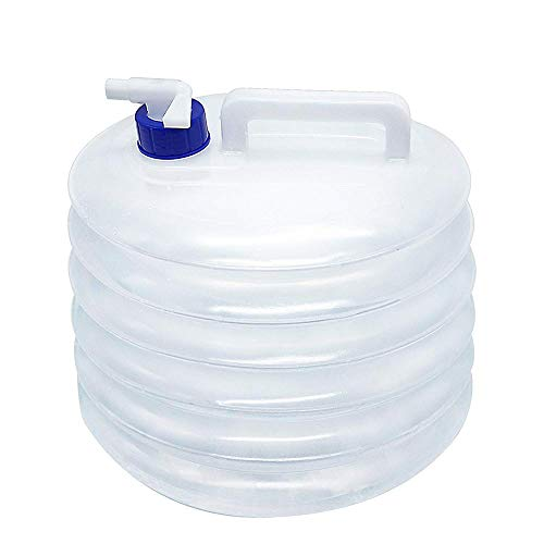 JUZZQ Cubo De Agua PortáTil Garrafa Plegable, 3l / 5l / 8l...