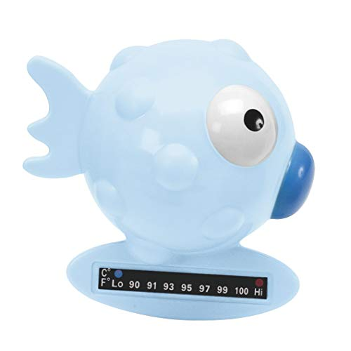 Chicco 00006564200000 Termometro Da Bagno Pesce Palla, Azzurro