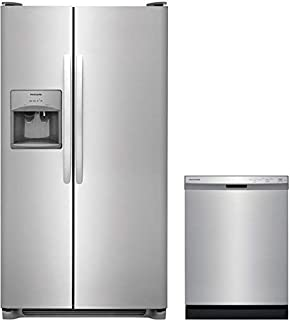 Frigidaire 2-Piece Stainless Steel Kitchen Package with FFSS2615TS 36