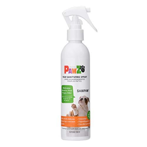 PawZ SaniPaw Dog Paw Sanitizer Spray