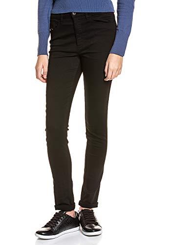 Diesel Damen Skinzee High Waist Super Skinny Leg Jeans 0813e - Schwarz - 25W x 32L