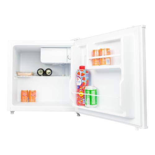 Salora CFB4300WH Kühlschrank, freistehend, 43 l, A+, Schwarz, 43 l, N-ST, 42 dB, A+, Schwarz