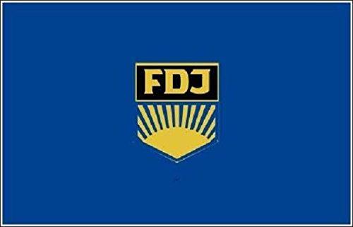 U24 Fahne Flagge DDR FDJ Bootsflagge Premiumqualität 30 x 45 cm