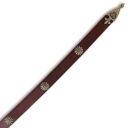 Mittelalterlicher Langgürtel mit Ziernieten - 5
