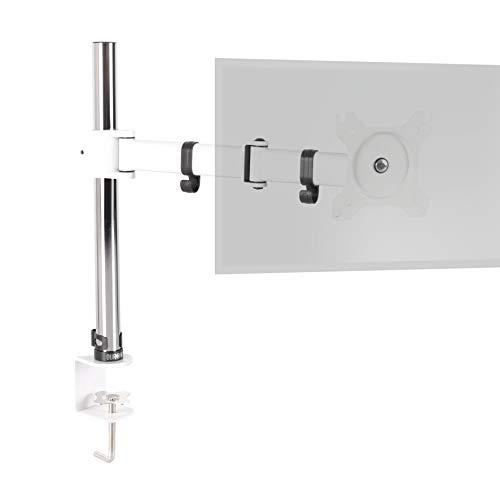 """Duronic DM251X3 We Soporte para Monitor de 13"""" a 27"""" Pulgadas 8Kg máx - Altura Ajustable, Giratorio, inclinable, Brazo Extensible – Soporte para Ordenador, TV LED, LCD"""
