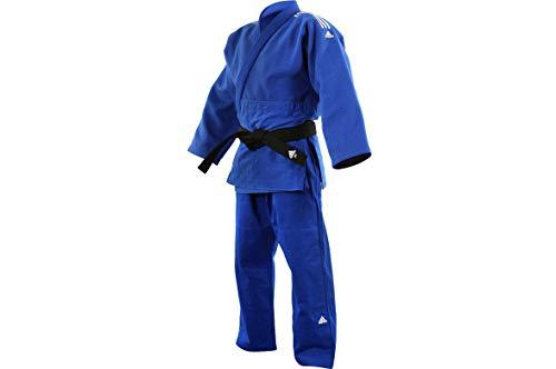 Adidas J990B - Kimono de Judo, Millenium - Azul J990B, 1 m75