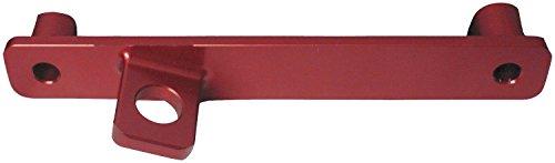ModQuad Rear Fender Flag Mount Aluminum Red Universal Offroad/MX Dirt Bike