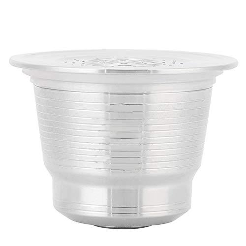 MAGT Cápsula de café, Taza de cápsula de café Reutilizable Recargable Duradera Compatible con Nespresso U