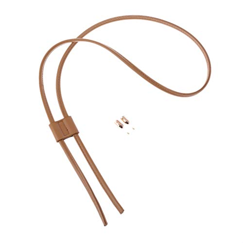 SimpleLife Bag Drawstring Rope für Rucksack Beam Pocket DIY Handwerk, Frauen Mädchen Abnehmbare PU-Leder Tasche Strap Gürtel Eimer Taschen Drawstring Bunches Zubehör