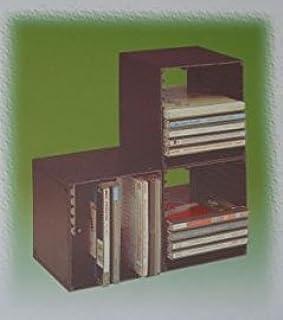 Clements Archivador CuboDics 10 CD (5 Unidades para archivar 50 CD Sencillos ó 20 Dobles)
