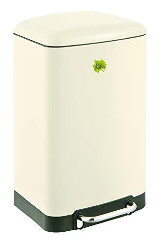 Made for us 20 Liter 50er-Jahre Mülleimer Retro Tret-Abfalleimer Küchen-Mülleimer 20 L Abfall-Eimer Pedal-Treteimer