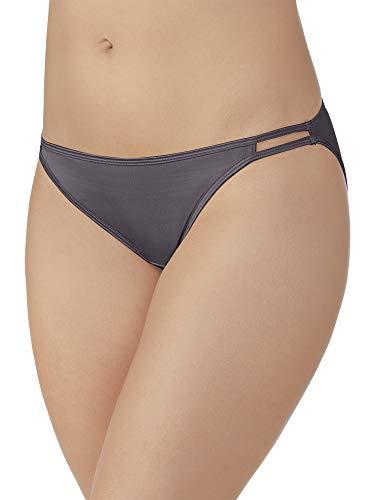 Vanity Fair Women's Illumination String Bikini Panties (Regular & Plus, Plus Size-Steele Violet, 11