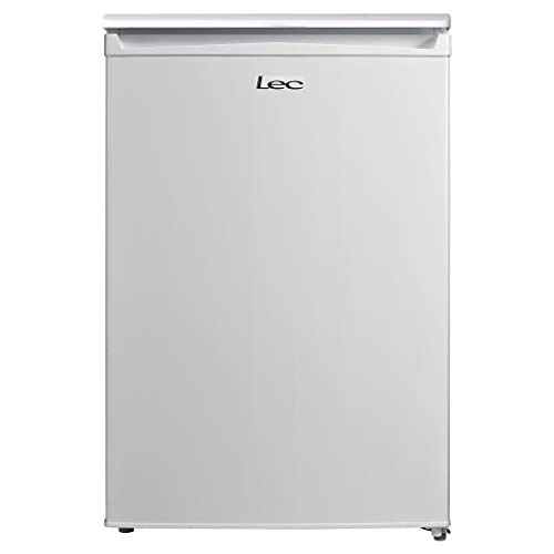 Lec L5511W Freestanding Under Counter Larder Fridge, Adjustable Thermostat, 135L Total Capacity, 55cm wide, White