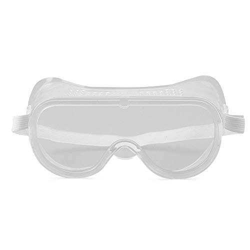 Gafas de Seguridad Motocicleta Anti-vaho Gafas Protectoras Transparentes Gafas Deportivas Exteriores Construcción Disparos Laboratorio