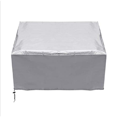 DONGZHI Anti Scratch For 3D Printer Dust Cover Office Dustproof Washable Protector Full Coverage Waterproof Polyester (Color : Silver, Size : 45x45x30cm)