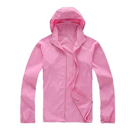 Abrigo de piel de secado rápido para hombre protector solar impermeable mujeres delgadas del ejército Outwear