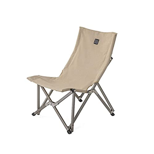 Sillas Silla Plegable de Camping Silla de Camping Plegable de Respaldo Alto para Trabajo Pesado Marco de Aluminio de Grado aeronáutico para sillas Plegables de Campamento al Aire Libre