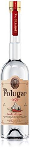Polugar Nr. 2 Garlic & Pepper (Knoblauch & Pfeffer) Wodka 0,5 Liter 38,5% Vol.