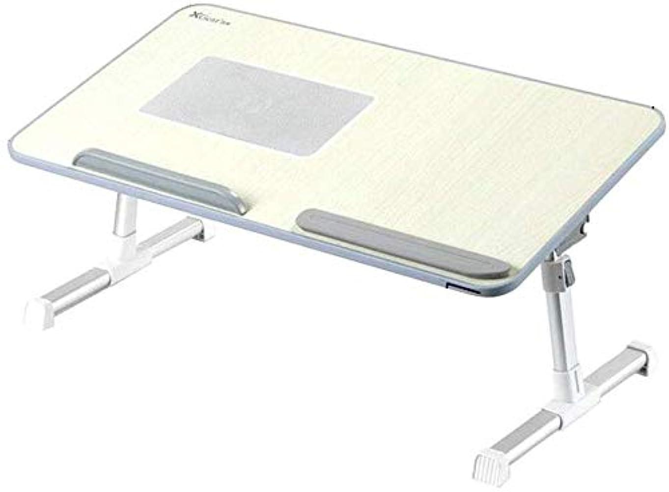 出会い可愛い従事したシンプルな小さなテーブル/ (:52x30x32cmサイズ)ラップトップテーブル怠惰な折り畳み式リフトブラケットベッドルーム小さなテーブルには小さな机女性用ドミトリー?カレッジの学生多機能ベッドホームライティングテーブルとベッドを作ります (Size : 52x30x32cm)