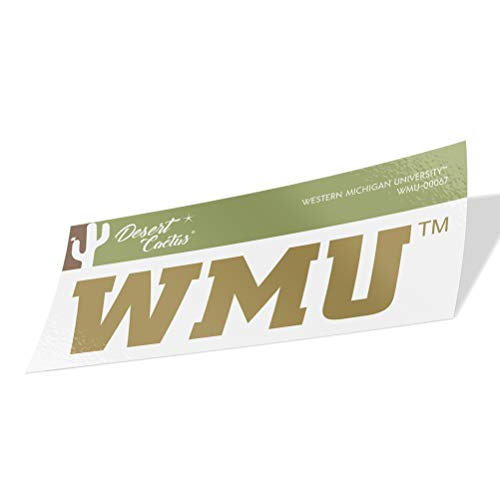 Western Michigan University WMU Broncos Vinyl Decal Laptop Water Bottle Car Scrapbook (Sticker - 00067)