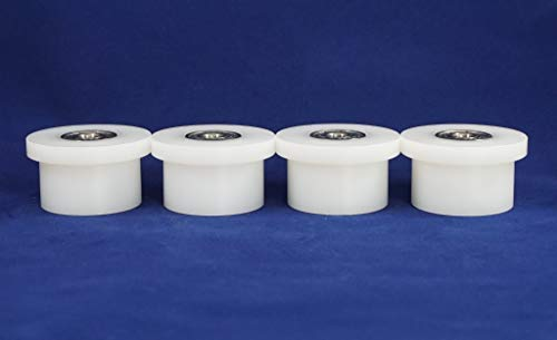 DLX III 570 4000 Adv DLX Pilates 2000 3000 2500 DLX II 4 New Total Trainer Rollers//Wheels for Models DLX Pilates Pro