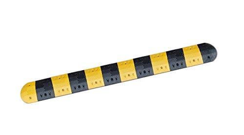 Pro²Tect Fahrbahnschwelle SB-5, Geschwindigkeitsbegrenzung: 20 km/h, Länge 3 m, Vehrkehrsberuhigung, Bremsschwelle, Temposchwelle, Straßenschwelle, Gelb/Schwarz