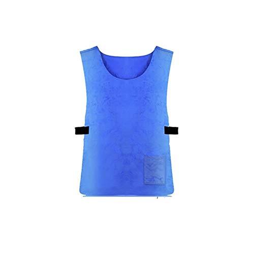 Jackallo Chaleco de Enfriamiento Frío Anti-Calor de Verano para Mujeres Hombres Adultos PVA Tela Impermeable Chaleco de Hielo Deportes Al Aire Libre Chaleco de Trabajo para Deportes Al Aire Libre