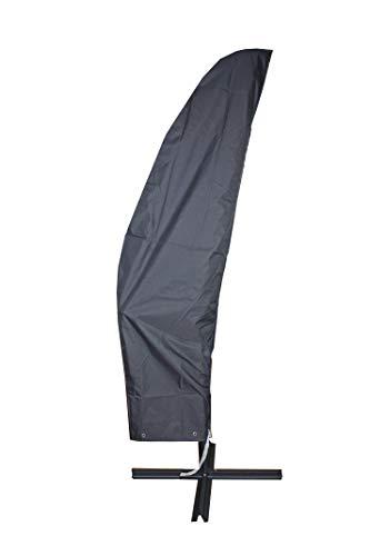 Bambelaa! Schutzhülle Ampelschirm 2-4m 300 cm Wasserdicht 2m Schutzhaube Gartenmöbel Abdeckung Winterfest Abdeckhaube Sonnenschirm (Ø ca. 2-4 m / 200-400 cm)
