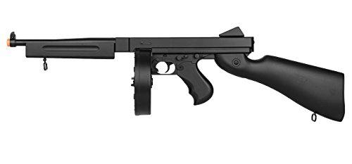WELL D98 M1A1 WWII Submachine Gun AEG (Black)