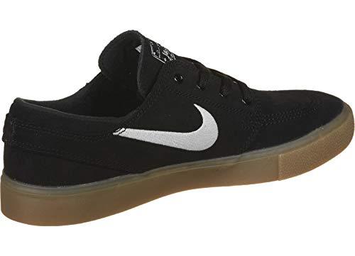 Nike SB Zoom Janoski RM, Zapatillas de Deporte Unisex Adulto, Multicolor (Black/White/Black/Gum Light Brown 3), 43 EU