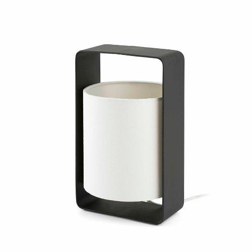 Faro Barcelona 28382 LULA-P Lampe de table blanche et noir