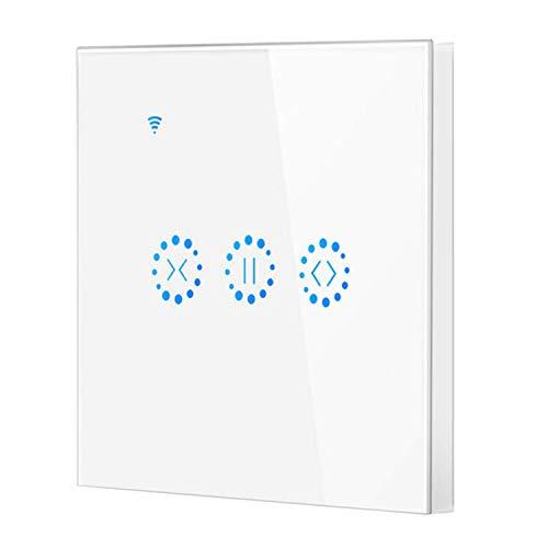 bobotron Enchufe de la UE, prensa inteligente WiFi eléctrica, interruptor de cortina para Ewelink, control por voz de Alexa Echo Home Persiana Motor