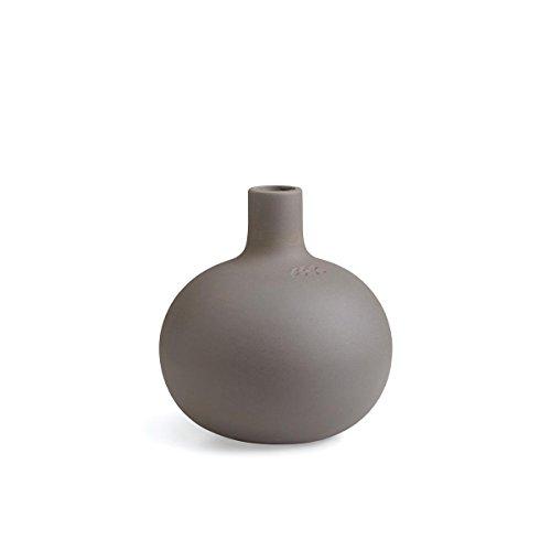 Kähler - Globo Kerzenhalter - Granitgrau Ø 15 cm