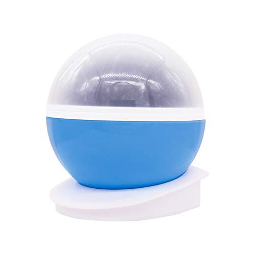 Projecteur de nuit en étoile, lampe à LED romantique, rotation de 360 ° de la lampe changeant de couleur avec batterie USB, alimentation double pour mariage,anniversaire,fêtes,chambre d'enfants,Blue