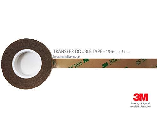 Adhésif Double Face 3M Transfer, 15 mm x 5 mt