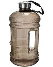 زجاجة مياه لون اسود 2.2 لتر