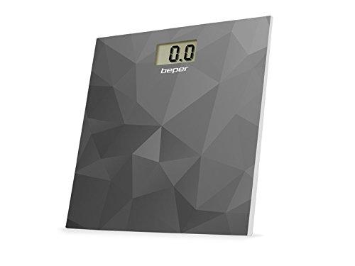 Beper 40.810F1 - Báscula de baño, color gris