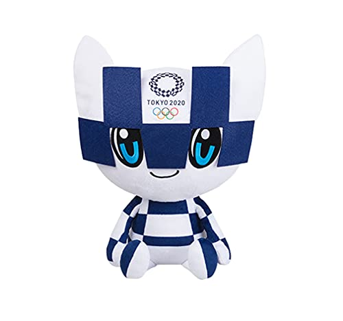 Yx-outdoor Peluche de 40 cm, la Mascota de los Juegos Olímpicos de Tokio 2020, para Dormitorio en casa, decoración de Oficina, Souvenirs, Regalos de cumpleaños para Familiares y Amigos