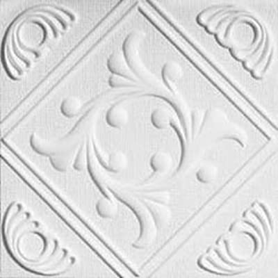Amazon Com Anet White Decorative Styrofoam Ceiling Tiles For Glue Up Application Home Kitchen