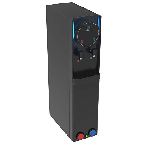 Touchless Water Cooler Hot & Cold Water Dispenser In Black For Offices, Homes & Schools