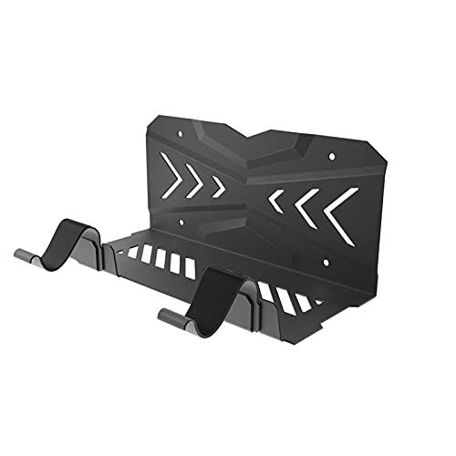 Allowevt Wandhalterung für PS5 Wandhalterung Abnehmbarer Controller Halter mit Magnetischem Ladekabel und Kopfhörerhalter, mit Wasserwaage und Rutschfesten Matten, liberal
