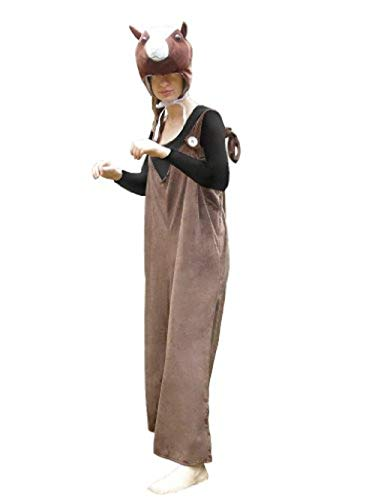Pferd-e Kostüm-e J33 Gr. L-XXL, Kat. 3, Achtung: B-Ware Artikel. Bitte Artikelmerkmale lesen! Tier-Kostüme Frau-en u. Männer Fasching-s Karneval-s