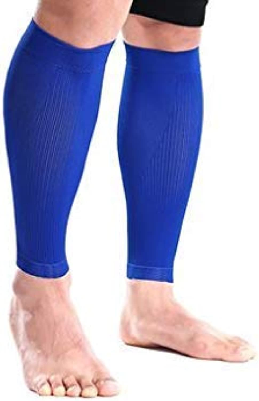 S06 Shin Leggings Calf Compression Sleeve Leg Muscle Predection Brace - 1 Pair -L