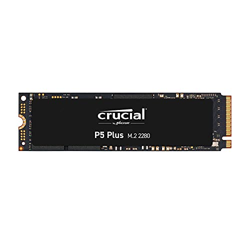 Crucial P5 Plus 1TB SSD PCIe Gen4 (最大転送速度 6,600MB/秒) NVMe M.2 (2280) 内蔵 5年保証 CT1000P5PSSD8JP 国内正規保証品