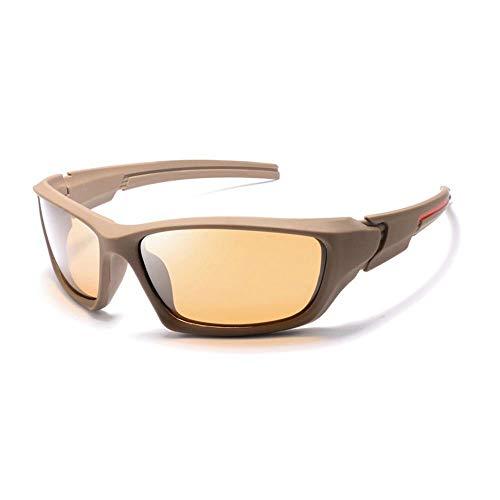 YFFSS Gafas de Sol Dos Lentes Reflectantes de Estilo Vintage Marco clásico Unisex Protección UV400