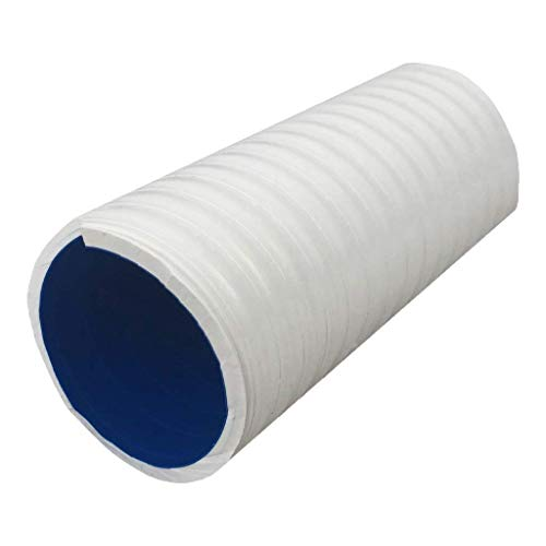 well2wellness® PVC Klebeschlauch/PVC Flexschlauch Anti-Chlor - 1m - 50 mm