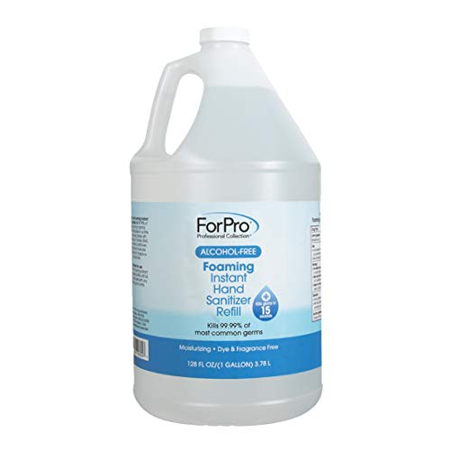 ForPro Alcohol-Free Foaming Instant Hand Sanitizer,...